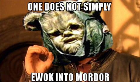 Ewoks Meme - creepy ewok memes