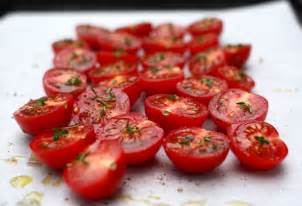 slow roasted cherry tomatoes a simple summer appetizer