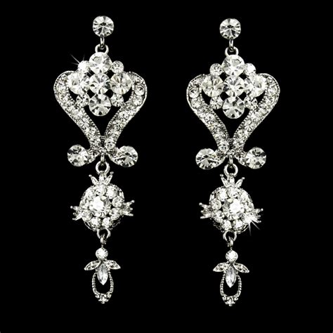 Wedding Chandelier Earrings Stress Away Bridal Jewelry Boutique Sophisticated Chandelier Earrings