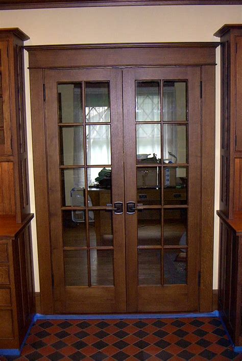 craftsman style interior trim craftsman style doors interior and exterior