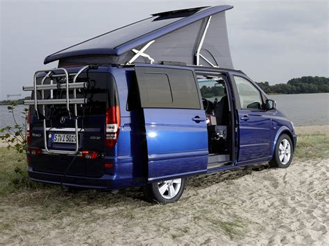 Mercedes Sprinter Caravan by Mercedes Sprinter Caravan Concept Viano Viano