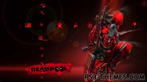 psp themes deadpool marvel ps3 themes 187 deadpool the game