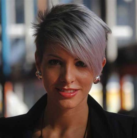 trendy middle aged women hairstyles 25 best ideas about short grey haircuts on pinterest