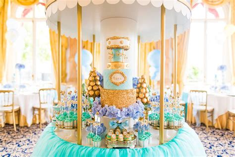 Golden Carousel Baby Shower   Baby Shower Ideas   Themes   Games