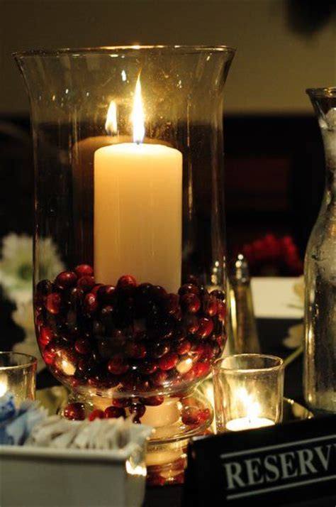 wedding centerpieces with candles uk 2 cranberries see its gorgeous wedding ideas