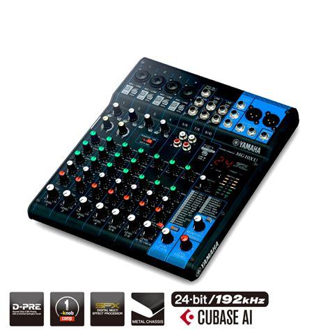 Mixer Yamaha 20 Xu mixer audio yamaha mg10 xu