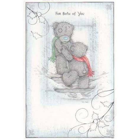 christmas card threelittlebearscouk