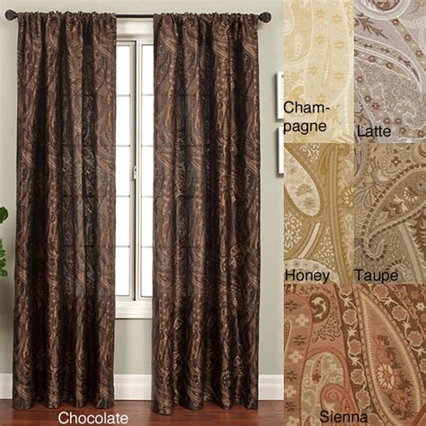 96 inch panel curtains geneva rod pocket 96 inch curtain panel overstock