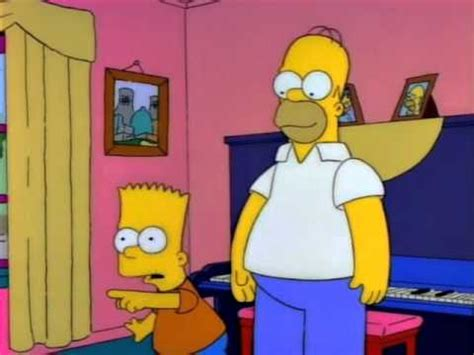 homero triste por bart youtube the simpsons homero consejo a bart sobre mujeres youtube