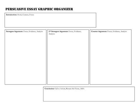 Graphic Essay by Best Photos Of Argumentative Essay Graphic Organizer Document Persuasive Essay Graphic