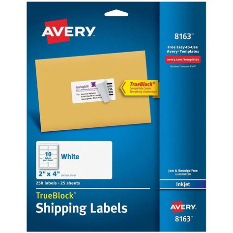 avery products templates avery product label templates made by creative label