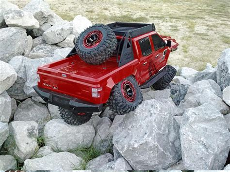 how long is the monster truck redcat clawback rock crawler electric remote control r c