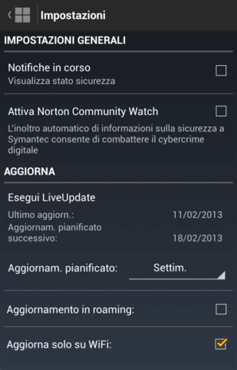 norton mobil security norton mobile security per android