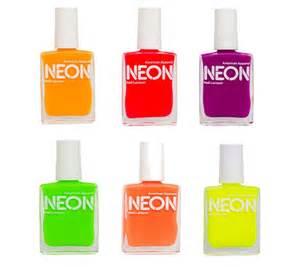 bright nail colors neon nail on 18 pins