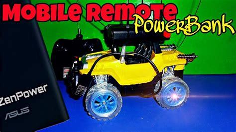 Baterai Remote Mobil Avanza mobil remot pakai power bank 10 000 mah baterai di jamin