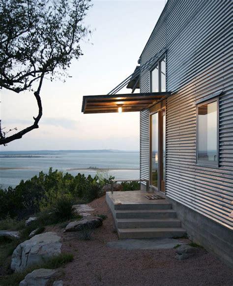 corrugated metal house siding facade fix 9 ways to add curb appeal with corrugated metal siding gardenista