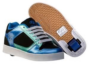 Heelys street lo skate shoes 7491 black blue teal girls and womens