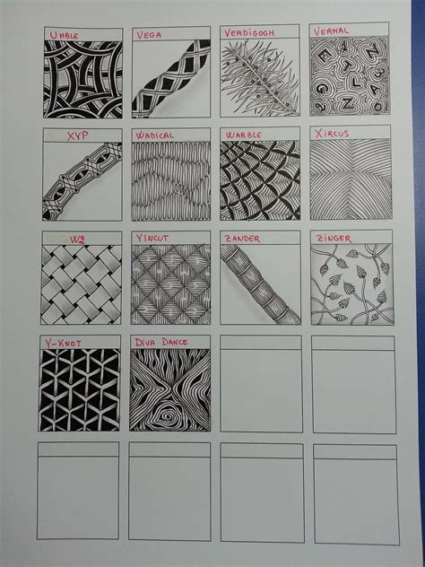 zentangle pattern wadical 1000 ideas about arte zentangle on pinterest zentangle