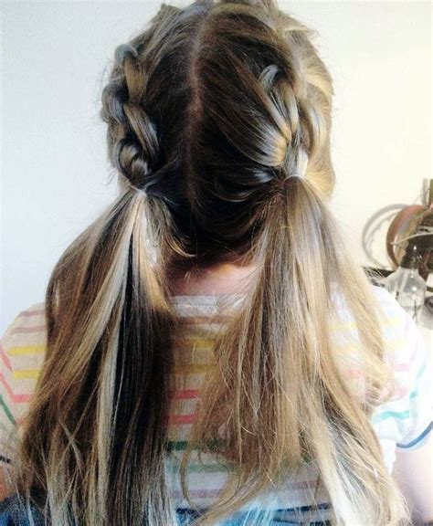 Pigtail Hairstyles For Adults by 25 Best Ideas About Pigtail Hairstyles On