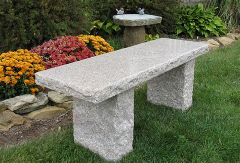 granite benches coral granite bench stone age creations ltd