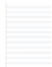 Image result for Handwriting without tears, wide, double lined paper,