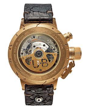 u boat diamond watch u boat opere uniche hera flightdeck 18k gold case fissuree