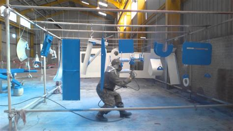 spray painter ppe airless industrial spray painting