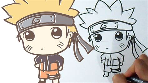 imagenes kawaii de naruto c 243 mo dibujar a naruto kawaii youtube