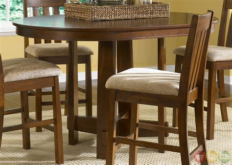 Casual Dining Furniture Mission Counter Height Casual Dining Furniture Set
