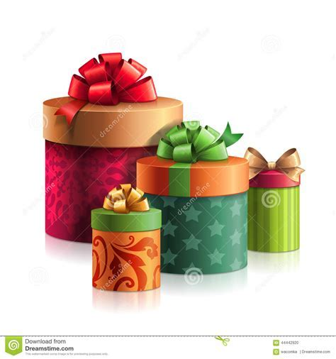 Christmas Clip Art, Stack Of Gifts Boxes, Presents Pile