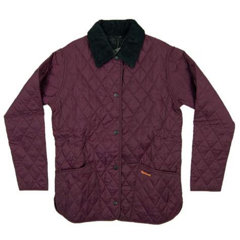 barbour coloured shaped liddsdale quilted jacket