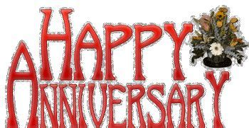Happy Anniversary Glitter Graphics   DesiComments.com