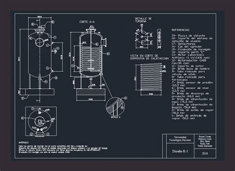 reactor dwg detail  autocad designs cad