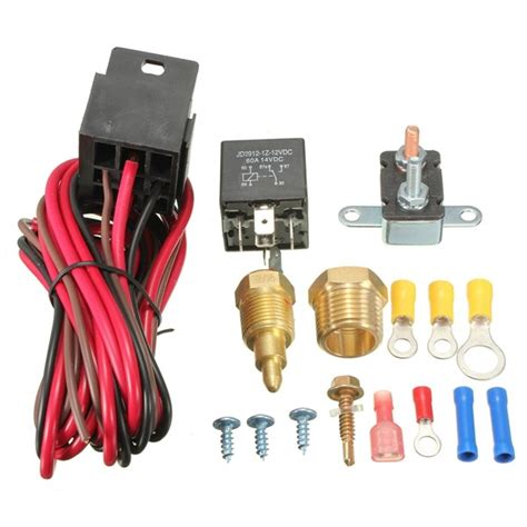 cooling fan relay switch 185 200 degree engine cooling fan thermostat temp switch