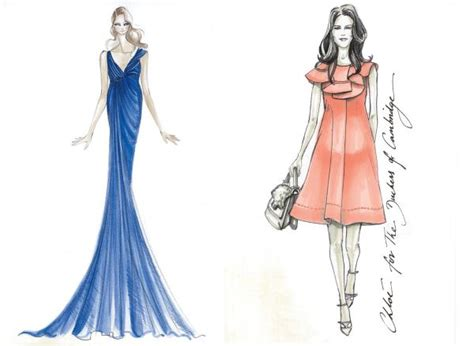 Fashion Design Dress 2015 | simple fashion design sketches of dresses 2015 2016