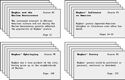 How To Make Source Cards For A Research Paper - misstarrsresearchpaperwiki creating note cards