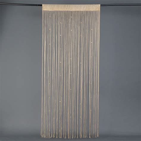 privacy beaded curtains string curtain with beaded fringe panel room divider