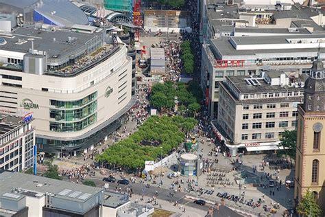 zeil que es lugares para ir de compras en frankfurt