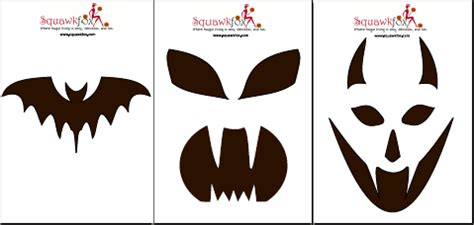 pumpkin templates pumpkin faces stencils images