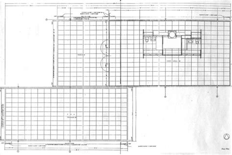 Farnsworth House Floor Plan by Vsu Studio March 2011