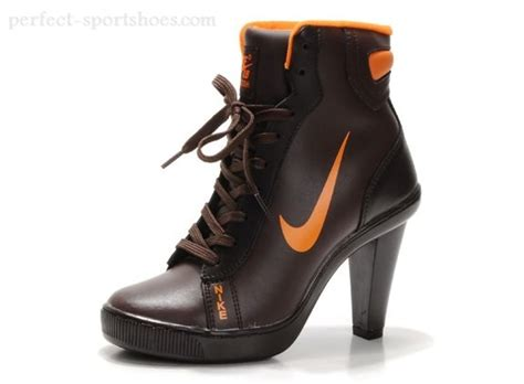 fashion nike 2012 heels dunk high womens shoes boots brown
