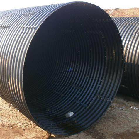 Big Pipe Plumbing by Big Diameter Corrugated Metal Culvert Pipe Assembled By