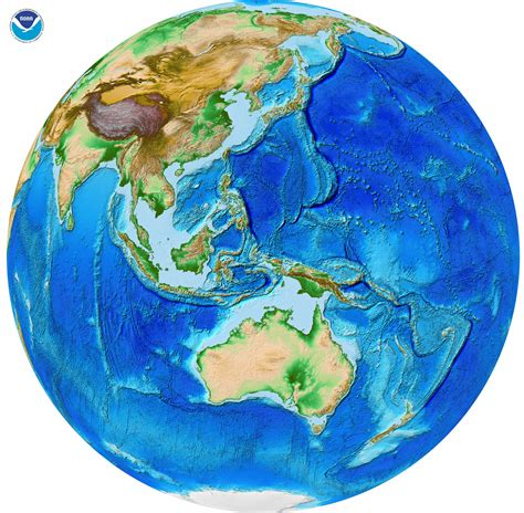 global map earth etopo1 global relief ncei