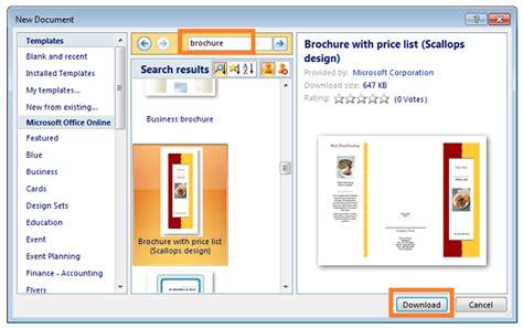 membuat brosur menggunakan microsoft word cara mudah membuat brosur menggunakan microsoft word 2007