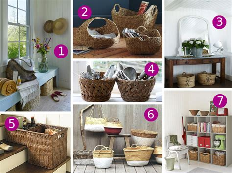 baskets for home decor decorating with baskets