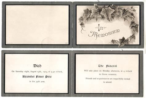 how to make memorial cards for funeral 8 best images of free printable funeral cards free