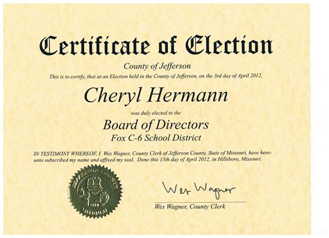 experience cheryl hermann for jefferson county council