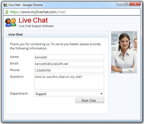 live chatting live chat software