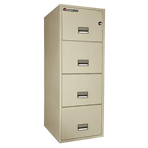 fire safe file cabinet 4 drawer sentry safe fire safe 4 drawer vertical file cabinet 53 58