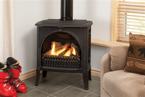 Valor Fireplace by Valor Madrona Freestanding Series